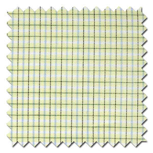 Maize and Olive Graph Check / Plaid Custom Dress Shirt
