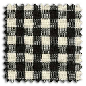 Black and Tan Check Custom Dress Shirt