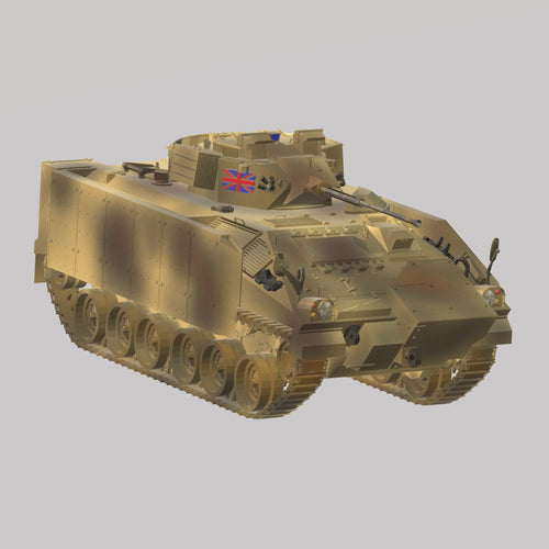 British Warrior MCV  Grossbritanien - TPA-Agency | 3d-modelling
