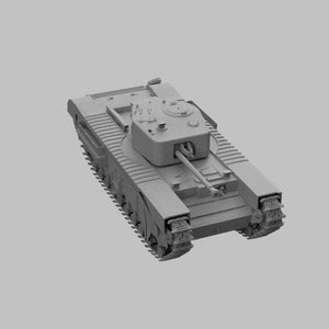 Churchill Mk.IV Grossbritanien - TPA-Agency | 3d-modelling