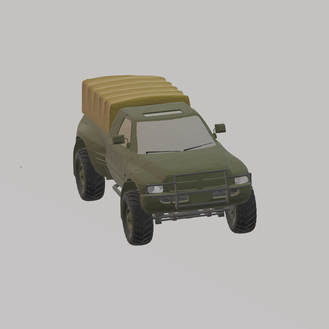 Dodge Ram COMBATT US Army - TPA-Agency | 3d-modelling
