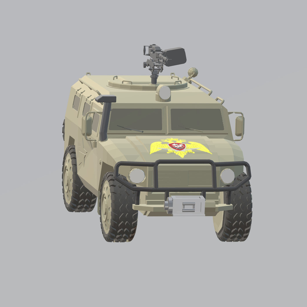 GAS TIGER Russland - TPA-Agency | 3d-modelling