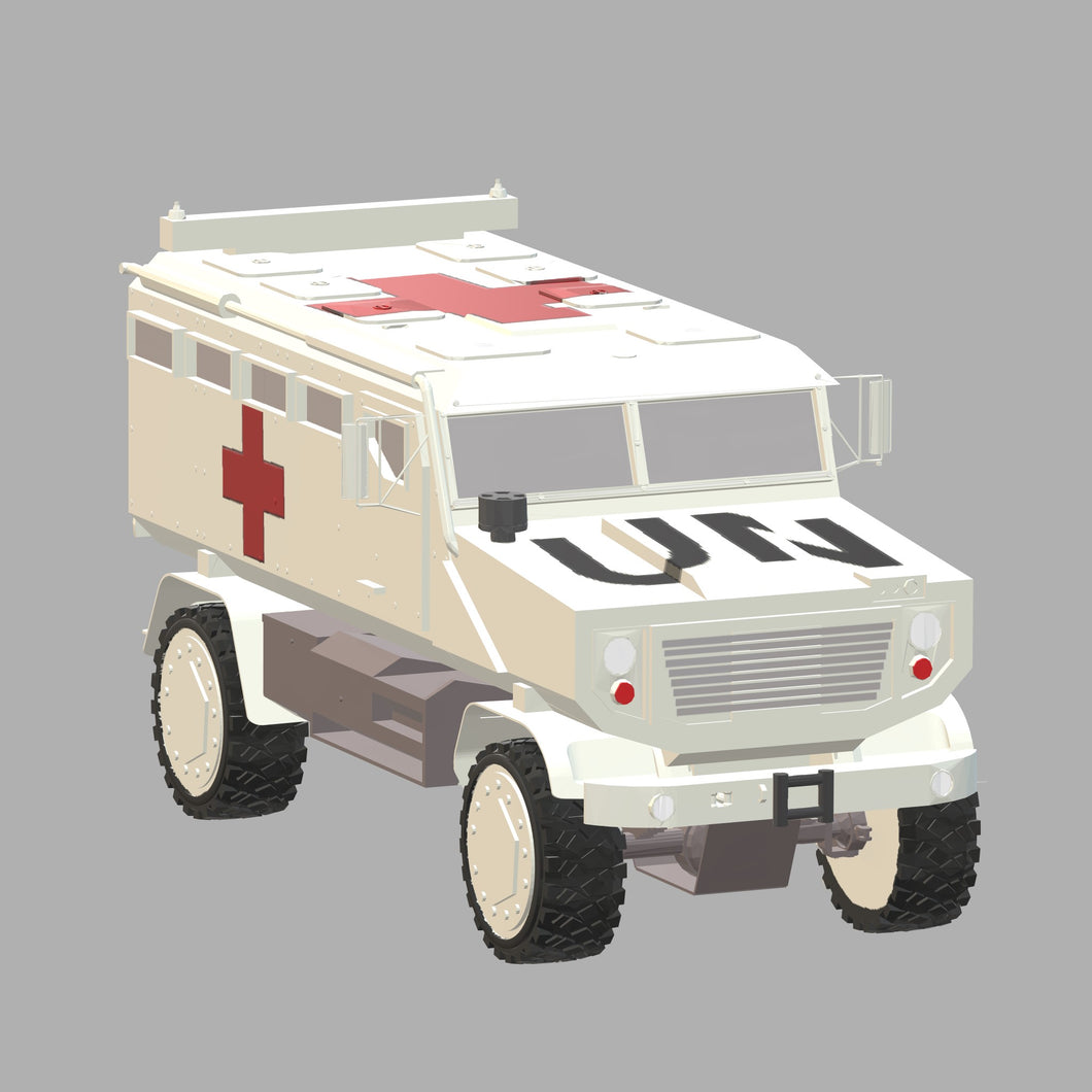 KrAZ-MPV Shrek One - TPA-Agency | 3d-modelling