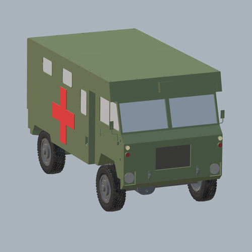 Land Rover 101 Forward Control - TPA-Agency | 3d-modelling