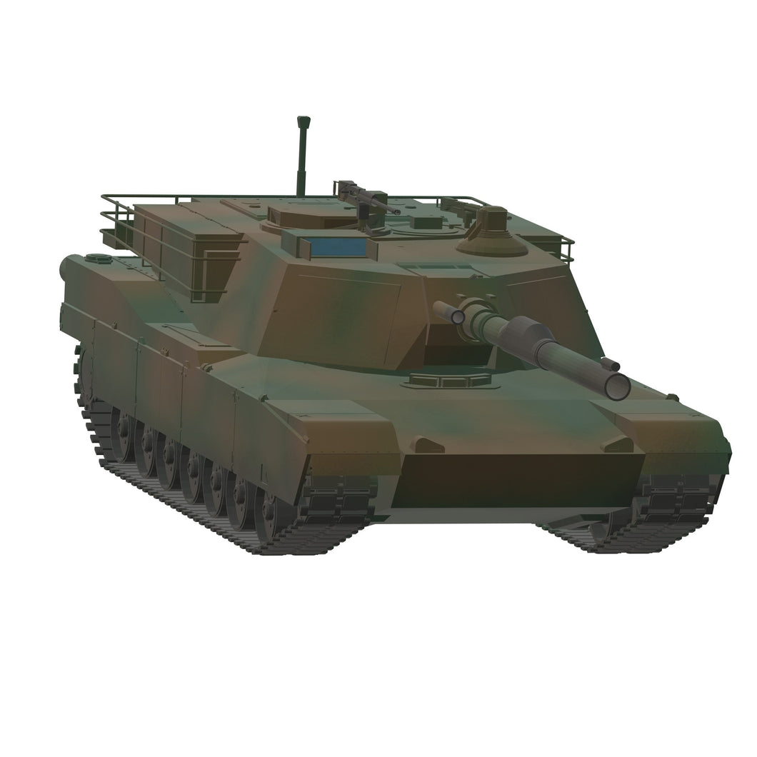 M1A2 Abrams US Army - TPA-Agency | 3d-modelling