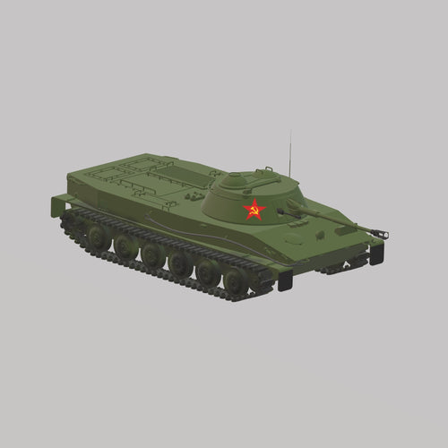 PT-76 Rote Armee - TPA-Agency | 3d-modelling