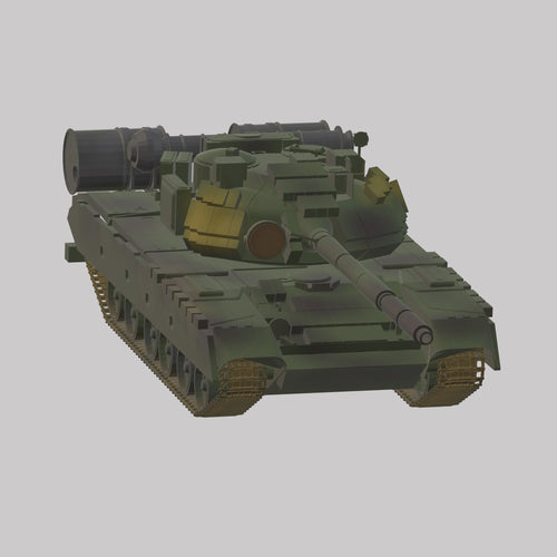 T-80BW Rote Armee - TPA-Agency | 3d-modelling