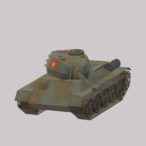T 34 - 85 Rote Armee - TPA-Agency | 3d-modelling