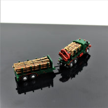 Laden Sie das Bild in den Galerie-Viewer, MB ZETROS Holztransporter - TPA-Agency | 3d-modelling