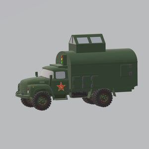 ZIL 130 Mobil Commande Rote Armee - TPA-Agency | 3d-modelling