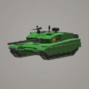 ZTZ 99 China - TPA-Agency | 3d-modelling