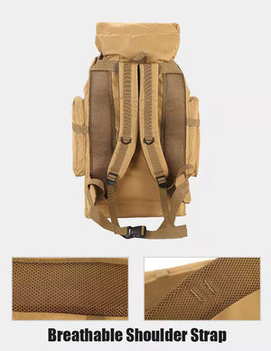 IMOK 70L Outdoor Backpack Molle Compatible