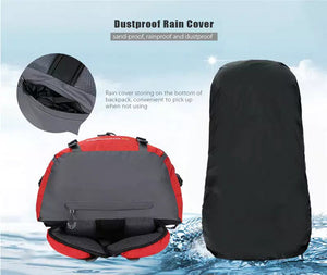 50L & 60L Outdoor Backpack Waterproof MOLLE Compatible