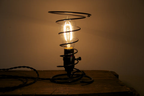 Chair Spring Lamp
