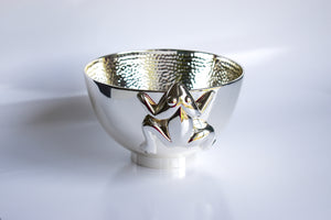 Silver plated Frog Bowl