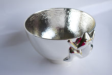 Load image into Gallery viewer, Silver plated Frog Bowl