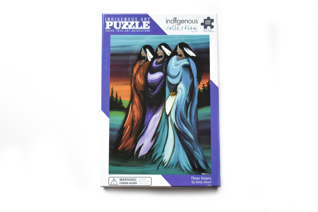Three Sisters Jigsaw Puzzle by Betty Albert