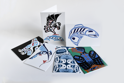 Haida Designs Boxed Note Cards