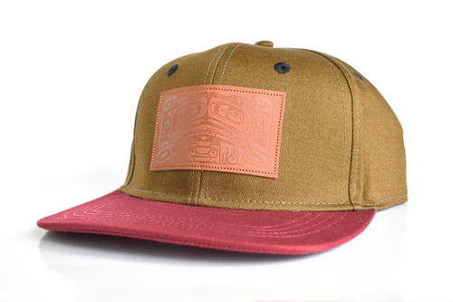 Snapback Hat: Legends by Allan Weir, Haida