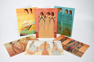 'Strong Women' Boxed Note Cards by Maxine Noel