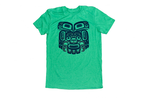 Ch'aak' Eagle Green T-Shirt