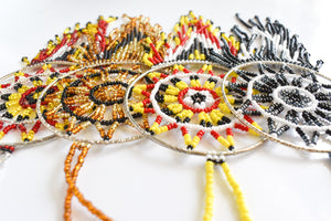 Beaded Creator's Eye Ornament