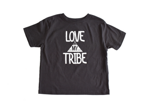 Kid's Tshirt and Onesie: Love my Tribe