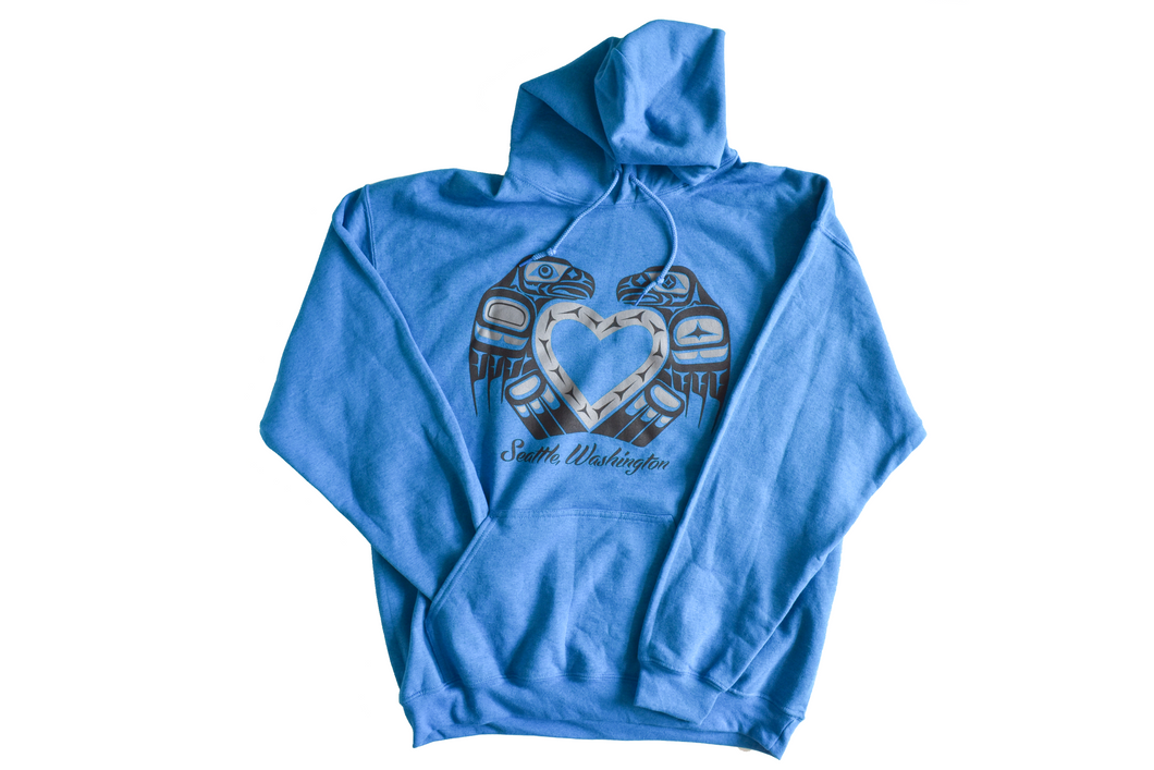 Hoodie: Seattle Lovebirds