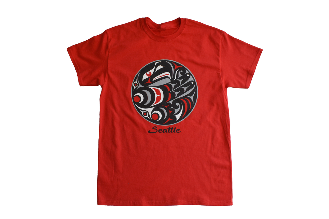 Tshirt: Red Eagle