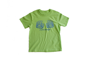 Youth Tshirt:  Seattle Bear Paw Print