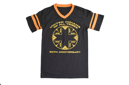 United Indians 50th Anniversary Black Gold Jersey