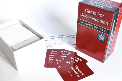 Cards for Decolonization: The Unsettling Card Game