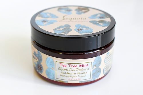 Tea Tree Mint Glycerine Foot Treatment by Sequoia Handmade Native Organics