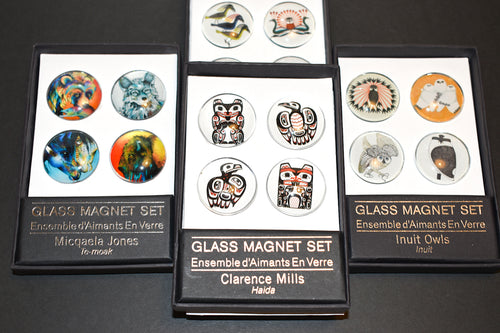 Indigenous Glass Magnet Set