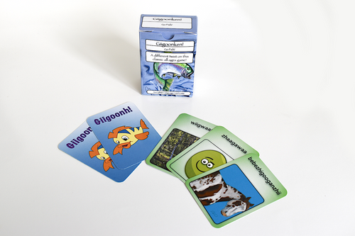Ojibwe Language Cards: Go Fish Game - Travel Edition