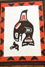 Load image into Gallery viewer, Haida Quilt by Christine Wagner, Haida