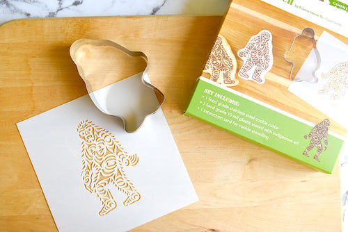 Indigenous Design Cookie Cutter and Stencil Set