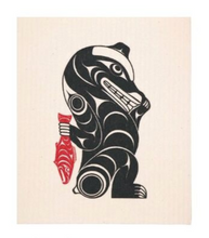 Load image into Gallery viewer, Salish Art Eco Cloth