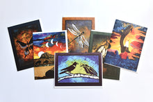 Load image into Gallery viewer, Set of Six Assorted Sandy Swallow Art Cards