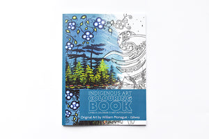 Indigenous Art Coloring Book