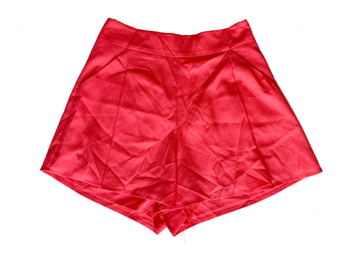 Shorts rosas altos