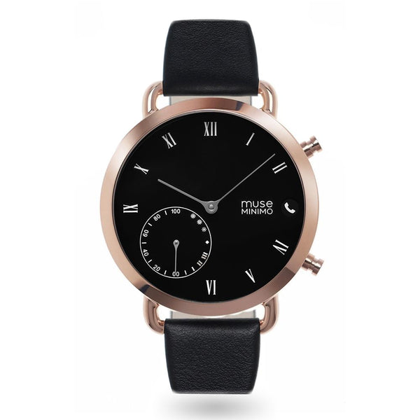 Muse Minimo Rosegold Black 18mm Non-NFC