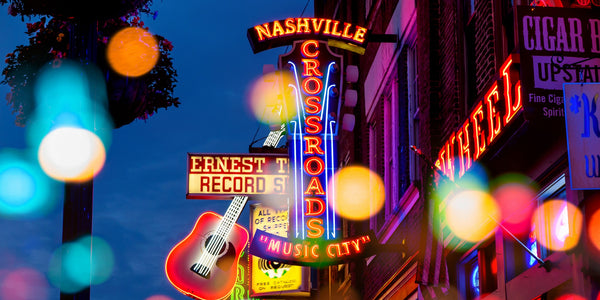Steel Guitars Nashville, Memphis and Jackson Road Trip