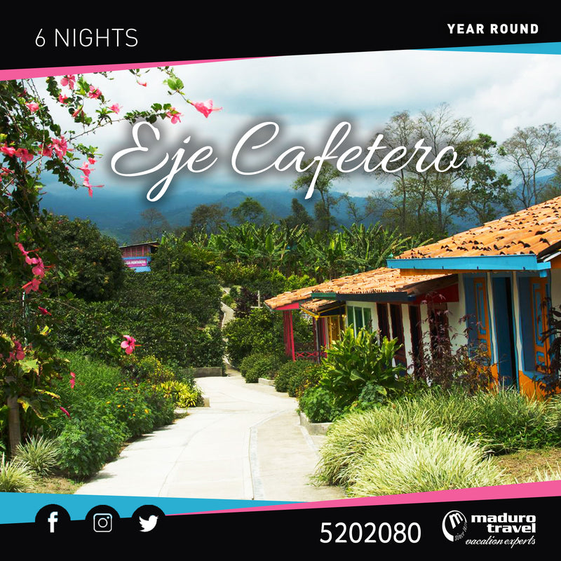 Eje Cafetero Colombia year round