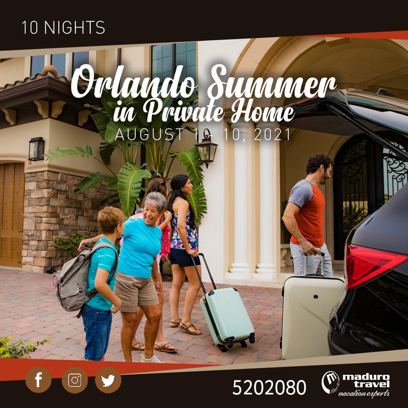 Orlando Summer in Private Home 2