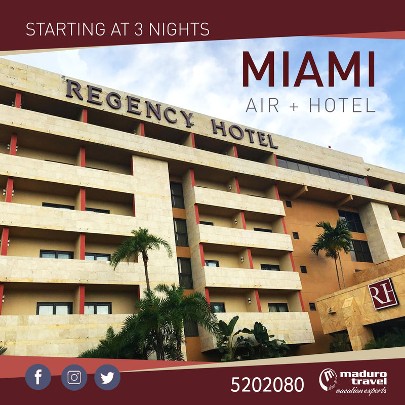 Summer Special: Regency Hotel Miami