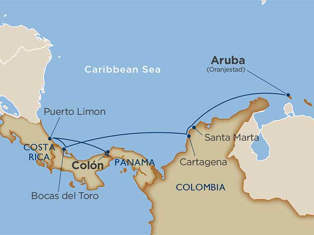 Wind Surf Cruise from Aruba 2022