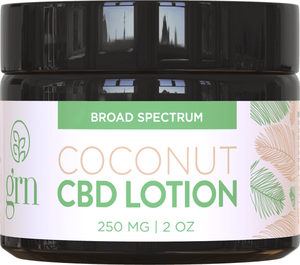 Broad Spectrum CBD Lotion Coconut 250mg