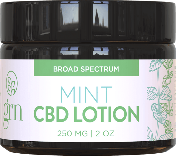 Broad Spectrum CBD Lotion Mint 250mg
