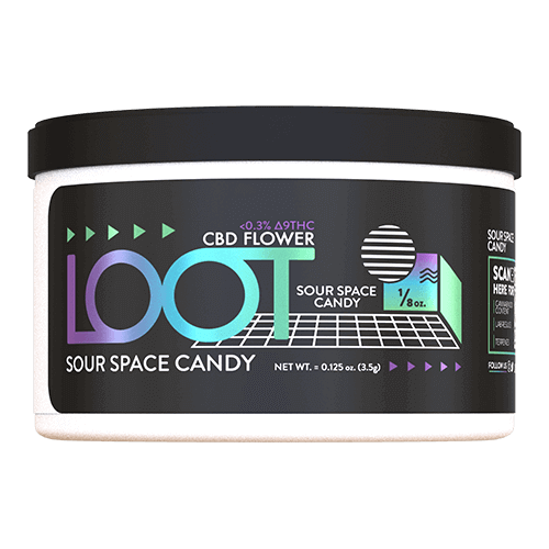 CBD Flower Sour Space Candy